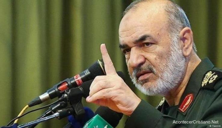 General Hossein Salami amenaza a Israel