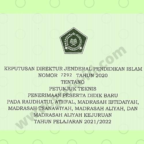 gambar juknis PPDB Madrasah 2022
