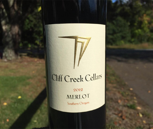 Cliff Creek Cellars Merlot 2012