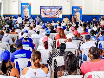 """Robertico Salcedo """"Aquí gana Luis, la senadora y dos diputados"""""""