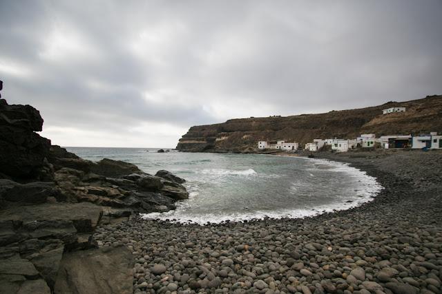 Spiaggia nera di Los Molinos-Fuerteventura