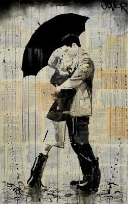 Ты, я и зонтик.