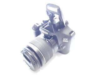 Kamera DSLR Canon EOS 4000D Seken Kit EF-S 18-55mm III Wifi Mulus Like New