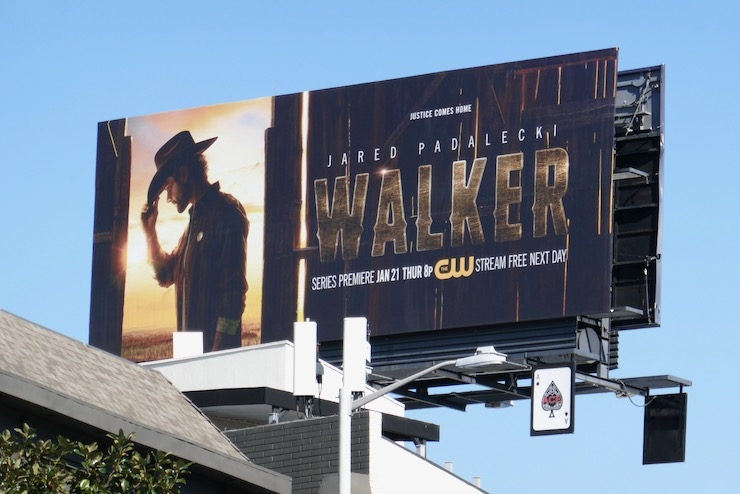 Walker series premiere billboard