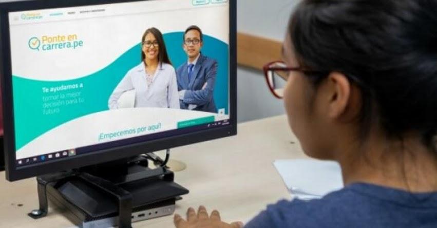 PRONABEC: Aplicación gratis «Ponte en Carrera» que te ayuda a elegir qué carrera estudiar