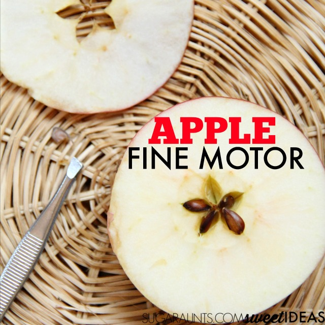Apple fine motor activity for Fall