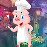 G4K Lucky Pig Escape