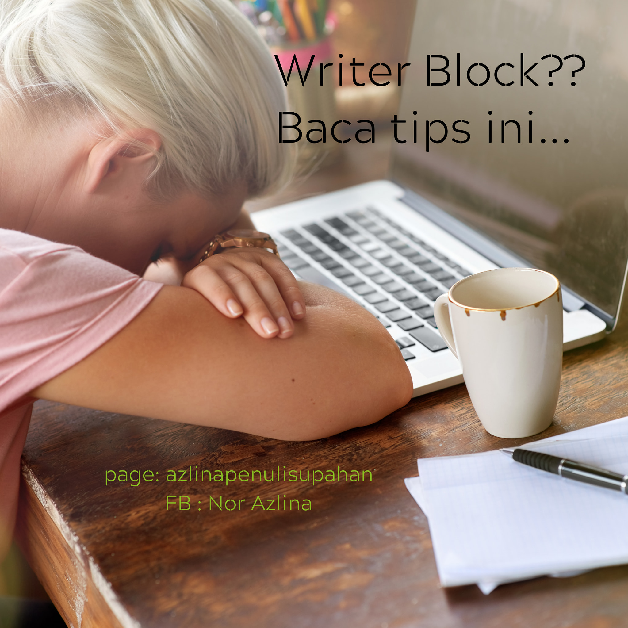 writer block dan penulis, 7 tip writer block