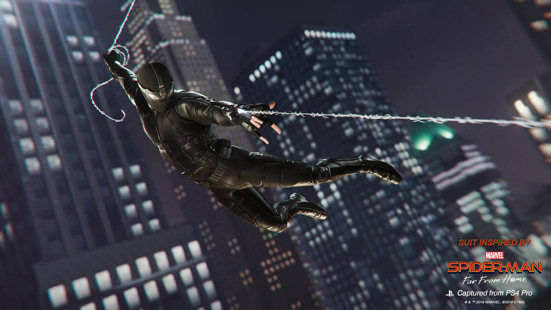 Marvel's Spider-Man Patch 1.16 Brings Two Free New Suits From Spider-Man: Far From Home