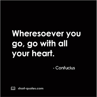 confucius heart quote