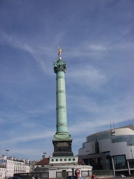 Colonne De Juillet - Place La Bastille