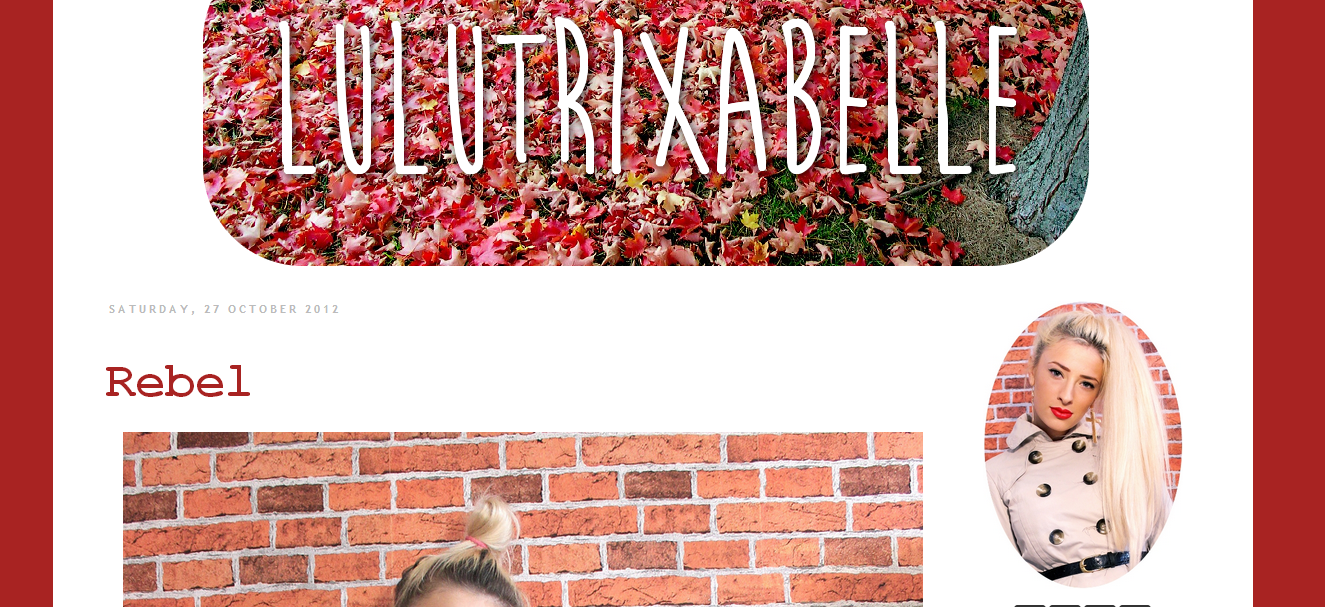 Lulutrixabelle Blog