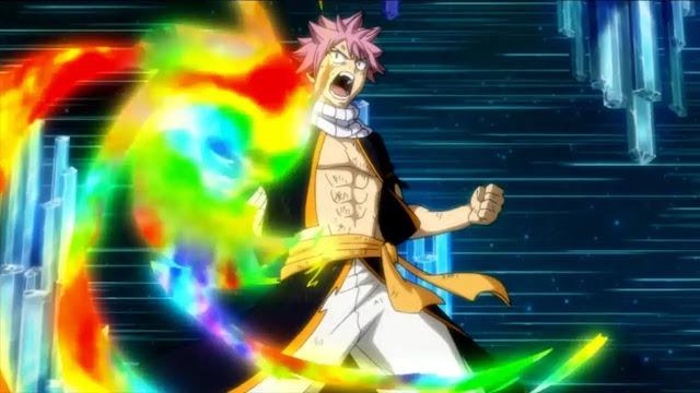 Natsu's Final Punch vs Acnologia