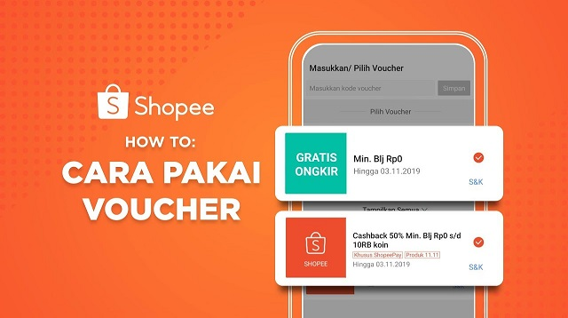 Cara Mendapatkan Voucher Gratis Ongkir Shopee