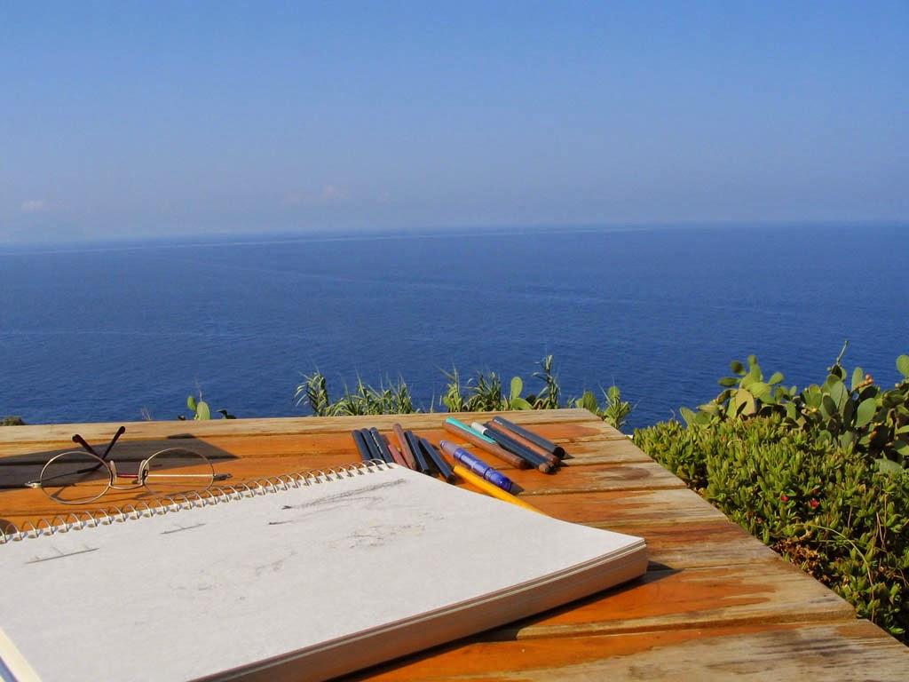 Meu atelier na Sicilia
