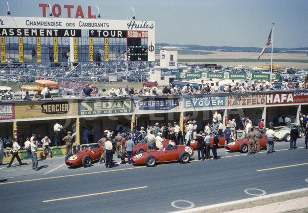 Formel 1 Rennen Circuit Reim Guex 1959