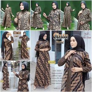 Gamis Batik Cinta