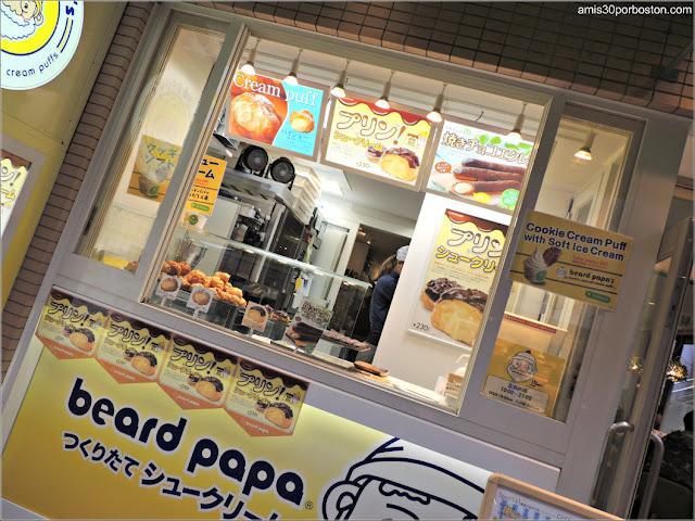 Beard Papa's en Takeshita Street, Tokio