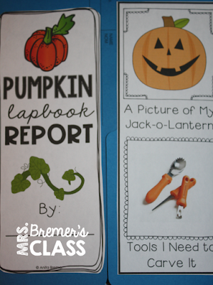 FREE Pumpkin Life Cycle Lapbook where students can show what they have learned about the pumpkin life cycle. A fun resource for teaching about pumpkins in the fall. #freebies #fall #lapbooks #pumpkins #1stgrade #kindergarten #2ndgrade #pumpkinlifecycle