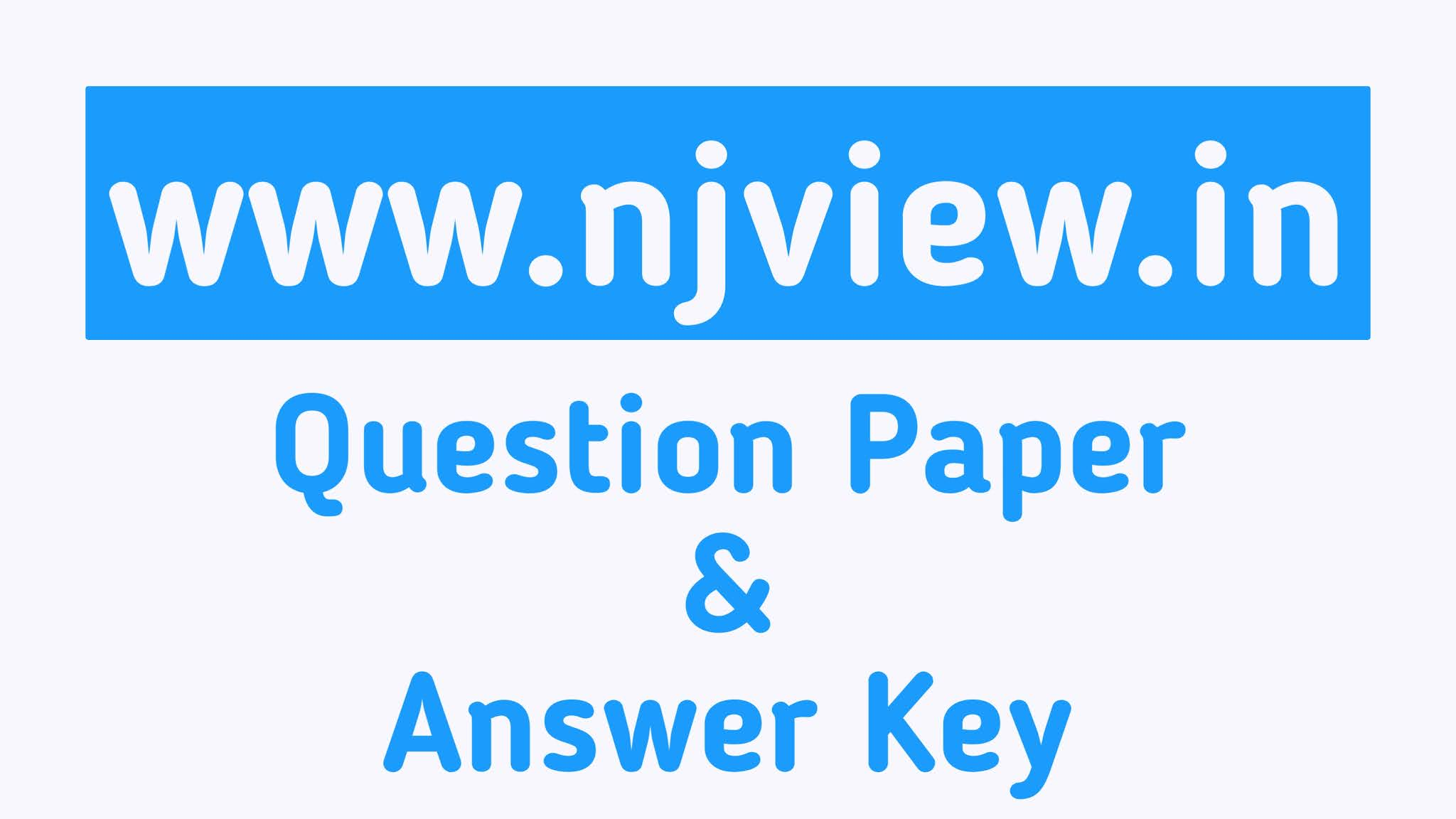 [PDF] Gujarat ASI Previous Year Paper Download Free in Gujarati