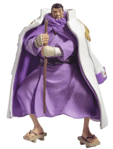 Almirante Issho coleccion oficial de figuras de one piece