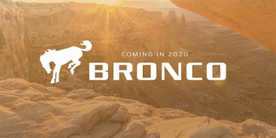Coming in 2020 Ford Bronco