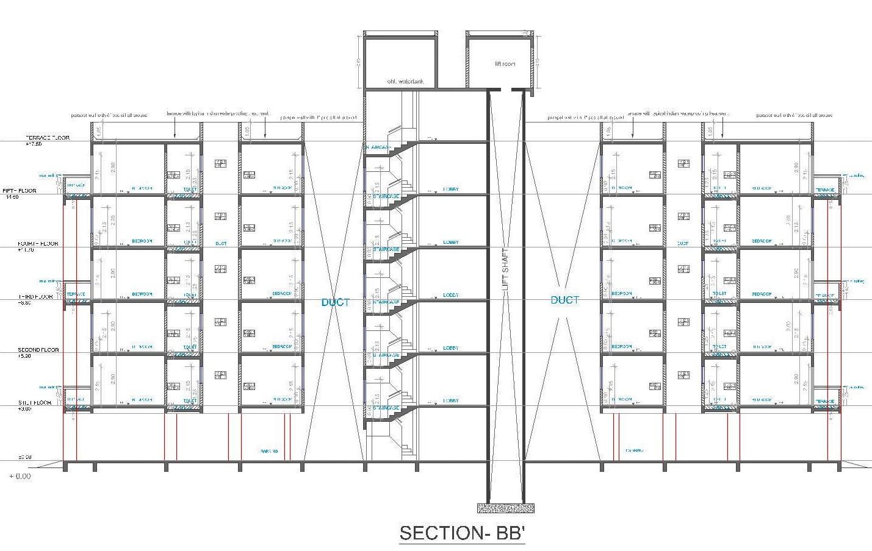 Architectural Portfolio Atria Housing Society At