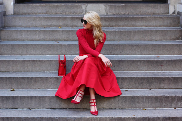 Blair Eddie in Red