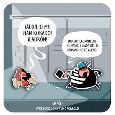 ladrón robando una cartera