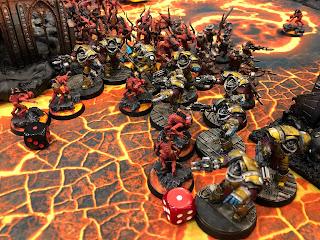 Imperial Fists 30k Terminators horus heresy
