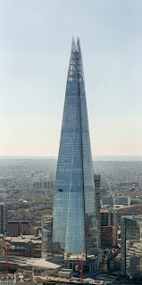 The Shard in London is one of Piano's landmark buildings