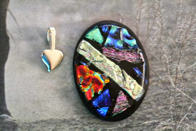Therese's fused glass cab, a piece of artwork :: All Pretty Things