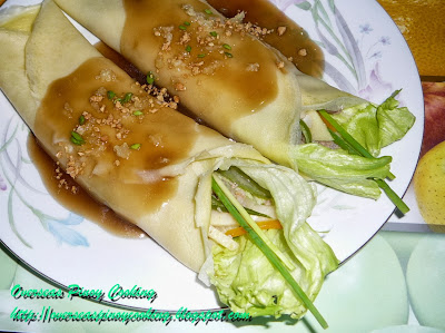 Lumpiang Sariwa, Lumpiang Ubod, Fresh Vegatable Roll