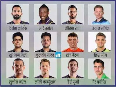 आईपीएल 2020 :कोलकाता की टीम है सबसे मजबूत, इस खिलाड़ी को बनाया गया है कप्तान