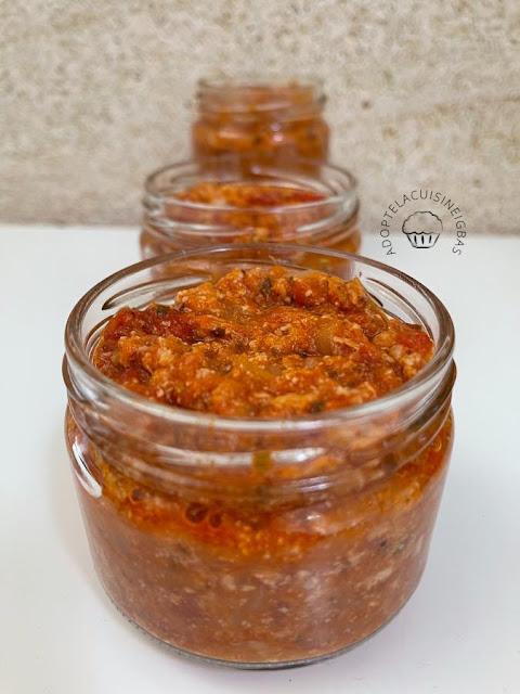 Tartinade thon tomates - Recette facile - IG bas
