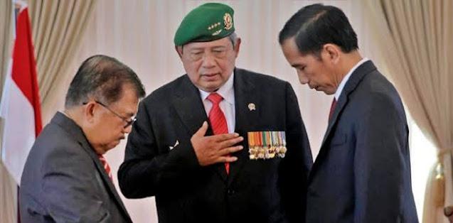 Blak-blakan Cara Hadapi Masalah, JK: SBY Cepat Ambil Keputusan, Jokowi Rapat 4-5 Kali Seminggu