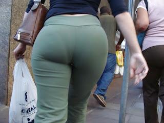 Señora caderona marca calzon pantalones vestir