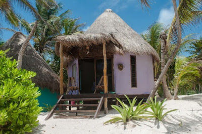 Mud huts are pretty in every continent except Africa