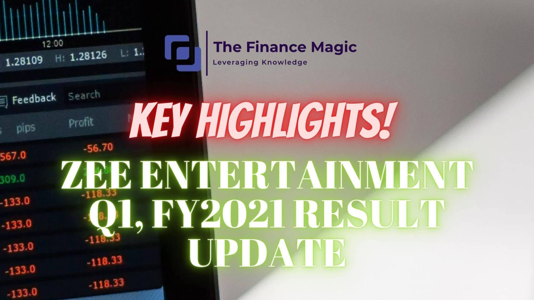 Zee Entertainment Q1, FY2021 Result Update