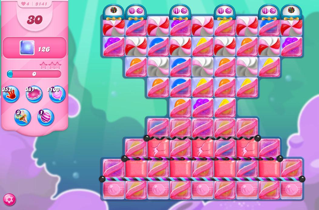 Candy Crush Saga level 9141