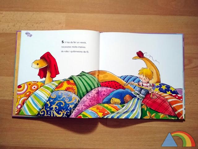 Interior del libro Braquiosaurio el dinosaurio más grande