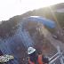 Twisted Cyclone, do Six Flags Over Georgia, atinge o ponto mais alto de sua construção