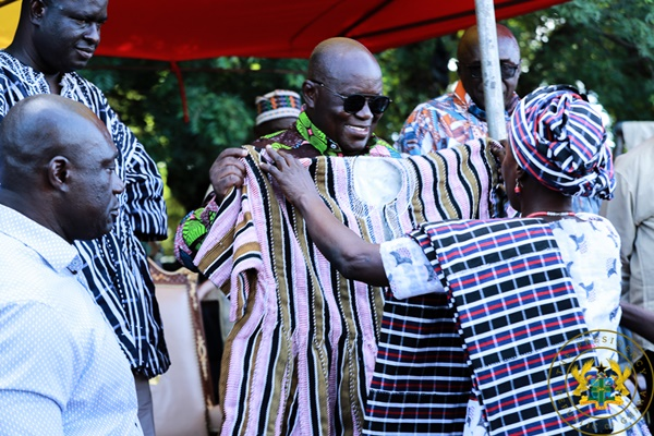 """""""Your Initiatives Have Lessened Our Burden"""" – Wa Chief To President Akufo-Addo"""