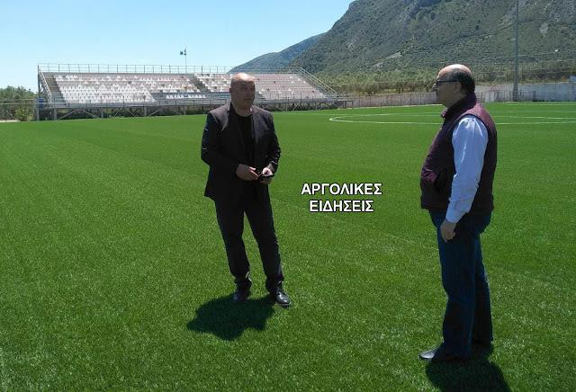 Επίσκεψη του Αντιπεριφερειάρχη Αθλητισμού Ι. Μαντζούνη στη Λακωνία για την επανεκκίνηση του Αθλητισμού