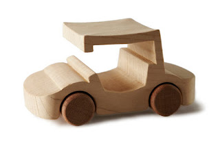 Juguete de madera automovil - wood car