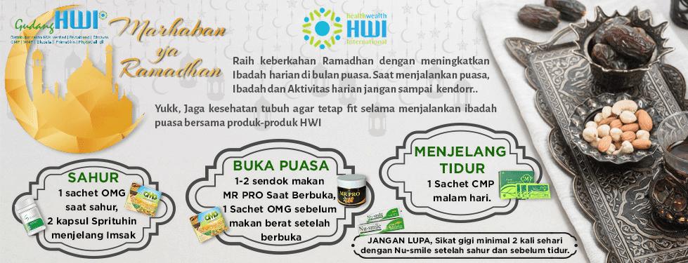 Produk HWI untuk puasa ramadhan