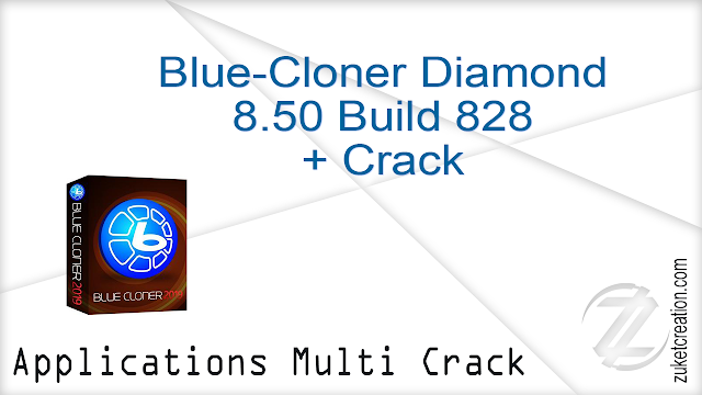 Blue-Cloner Diamond 8.50 Build 828 + Crack