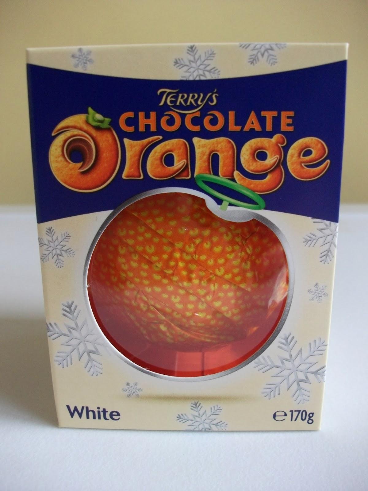 Terrys White Chocolate Orange Review