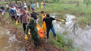 Warga Desa Tambah Subur Digegerkan Temuan Mayat Laki-laki di Kolam Ikan