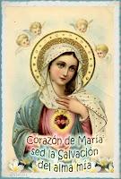 Resultado de imagen para SALUTACIÓN AL INMACULADO CORAZÓN DE MARÍA